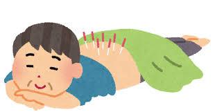 季節の変わり目に、鍼灸(^^♪